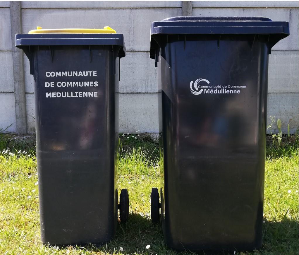 Bacs poubelles communauté médullienne