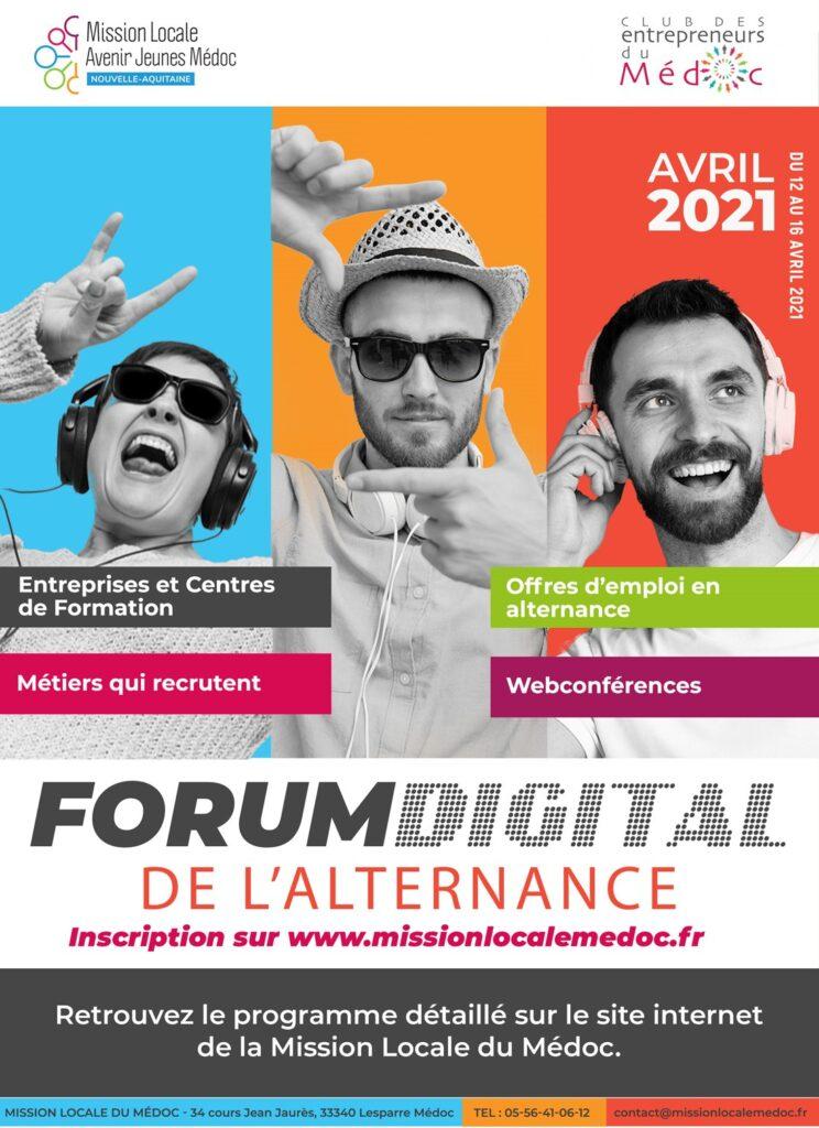 Forum digital de l'alternance